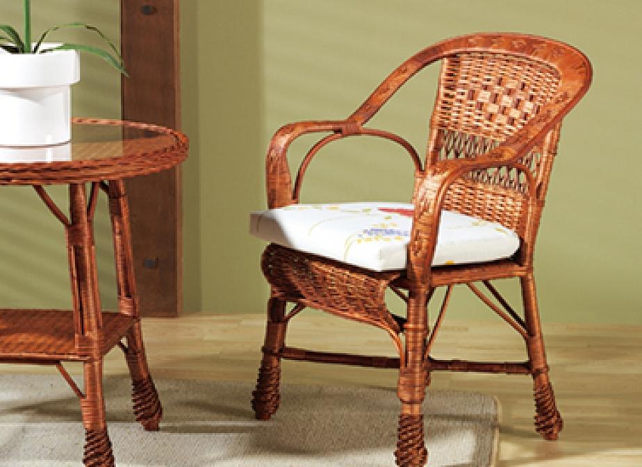 Butaca murcia silleria la cester a cester a mimbrer a mobiliario de mimbre mobiliario y - Butacas de mimbre ...
