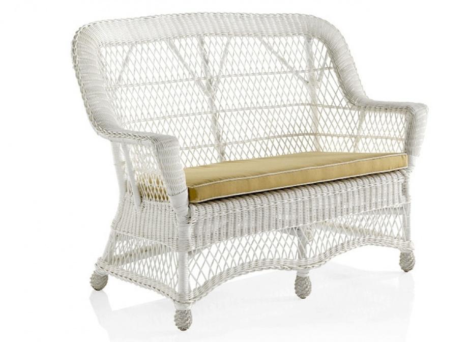 Sofa mimbre lacado mimbre rattan la cester a cester a mimbrer a mobiliario de mimbre - Sofa de mimbre ...