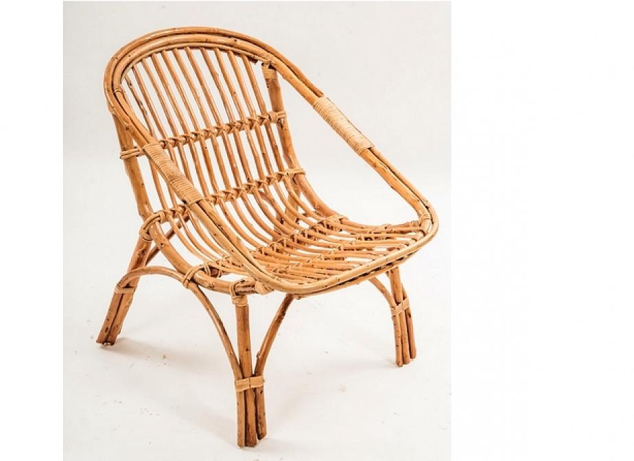 Sillon bambu lena mimbre rattan la cester a cester a for Muebles de mimbre para jardin