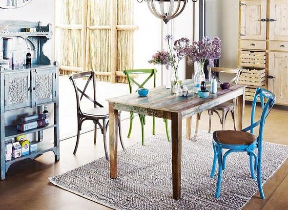 Casas Cocinas Mueble Muebles Jardin Mimbre