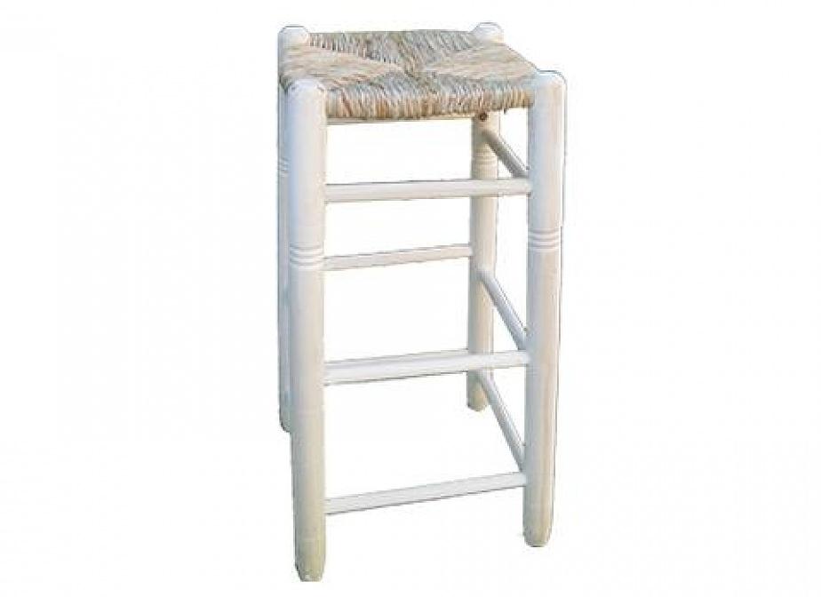 Taburete alto enea silleria la cester a cester a mimbrer a mobiliario de mimbre mobiliario - Taburetes online ...