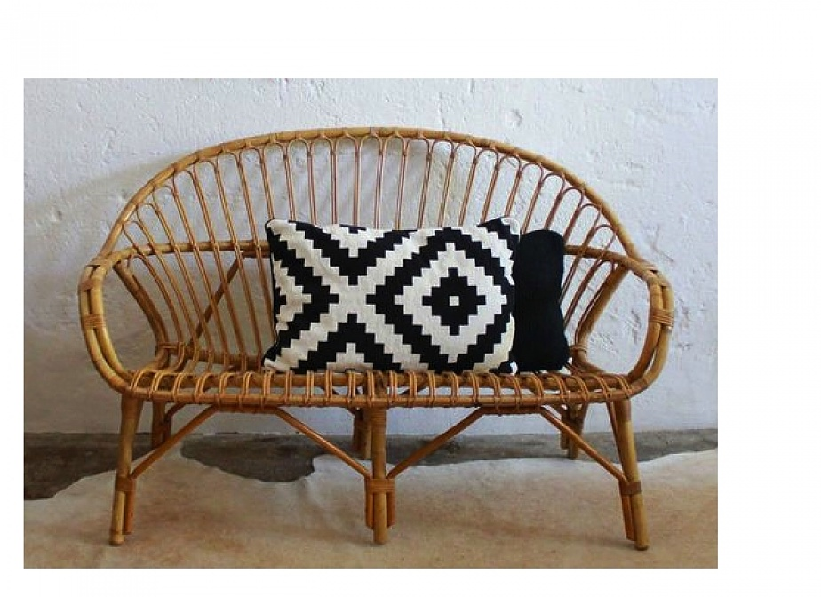 Sofa manila 2 plazas mimbre rattan la cester a cester a mimbrer a mobiliario de mimbre - Sofa de mimbre ...