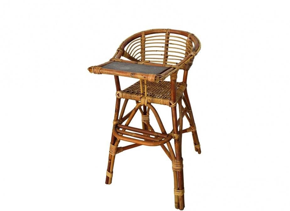 Trona bambu sillas la cester a cester a mimbrer a mobiliario de mimbre mobiliario y - Sillas de bambu ...