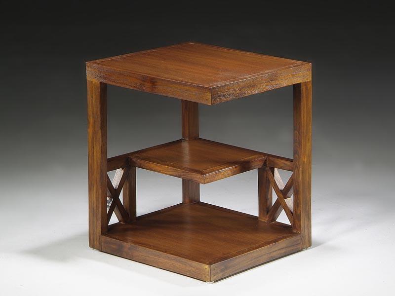 Mesa auxiliar revistero mesas de centro y rincon la for Mesa de esquinero